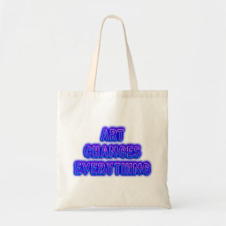 Art Changes Everything Tote Bag