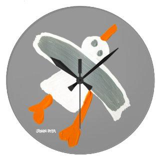 Art Clock: John Dyer Seagull Wallclock