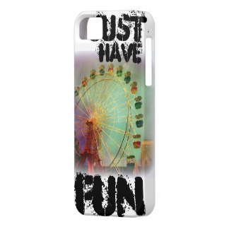 Art Collection:  Ferris Wheel Fun iPhone 5 Case