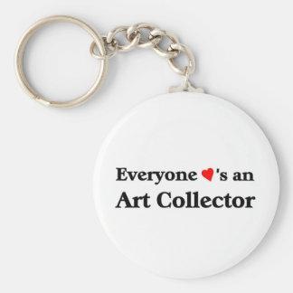 Art Collector Keychain