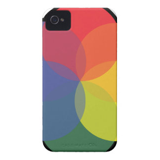 ART COLOR WHEEL iPhone 4 CASE