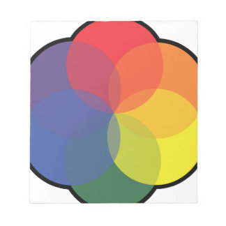ART COLOR WHEEL NOTEPAD
