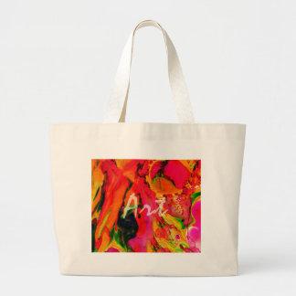 Art Colors, Vintage Paintings Drops Fashion Tote Bag