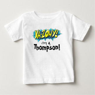 Art Comic Book Ka-Zowy! Adoption Day Party Shirt