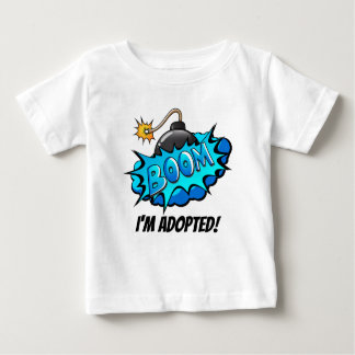 Art Comic Style Bomb Boom! I'm Adopted Party Tee
