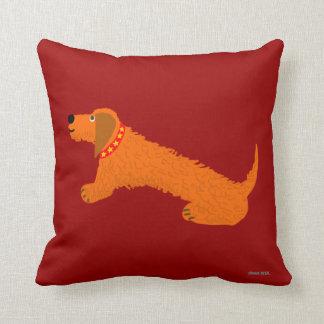Art Cushion: Dachshund Dog. Sausage Dog. Digory Throw Pillows