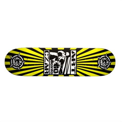 Art Czar - Go Gonzo #2 (Buzz Bomb) - Skateboard