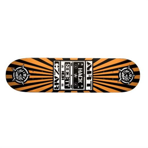 Art Czar - Hack Society (Tiger) - Skateboard
