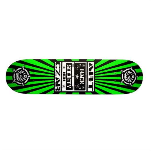 Art Czar - Hack Society (Venom) - Skateboard