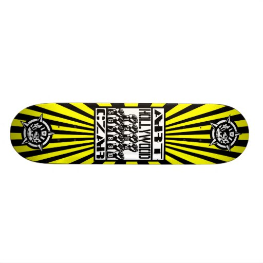 Art Czar - Hollywood 10  (Buzz Bomb) - Skateboard