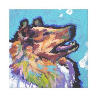 Art de bruit approximatif de colley sur la toile toiles