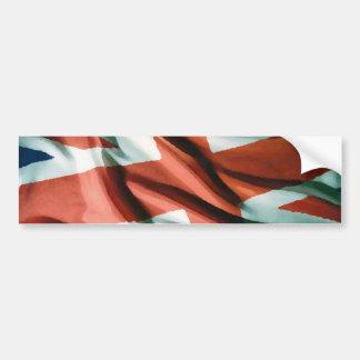 Art de bruit britannique de drapeau autocollant de voiture