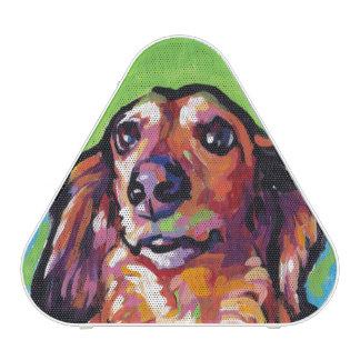 Art de bruit coloré lumineux de chien de doxie de haut-parleur bluetooth