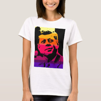 Art de bruit Jack JFK John F. Kennedy T-shirt