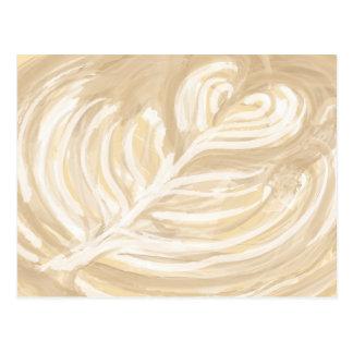 art de coeur de café carte postale