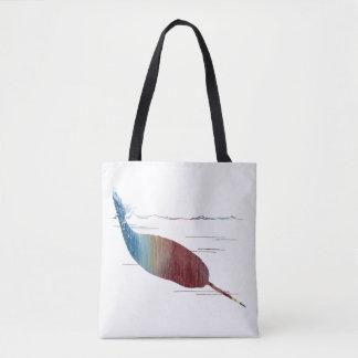 Art de Narwhal Tote Bag