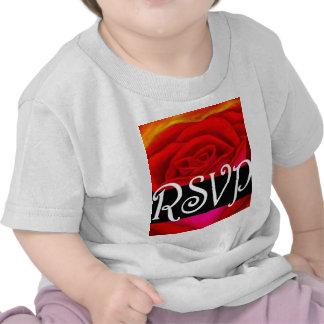 Art de peinture du rose rouge RSVP - multi T-shirt