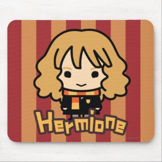 Art de personnage de dessin animé de Hermione Tapis De Souris