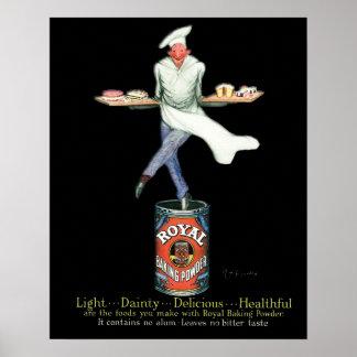 Art de publicité vintage de Baker