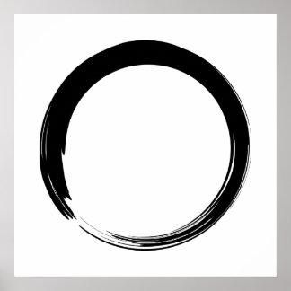 Art de zen poster