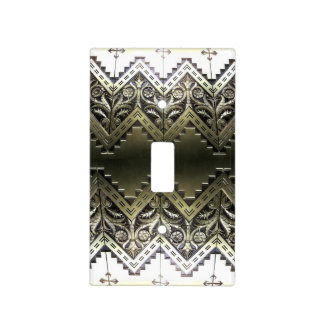 Art Deco 2 Light Switch Cover