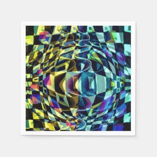 Art Deco - Abstract Diffusion Napkin