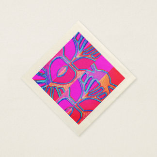 Art Deco abstract Disposable Napkins