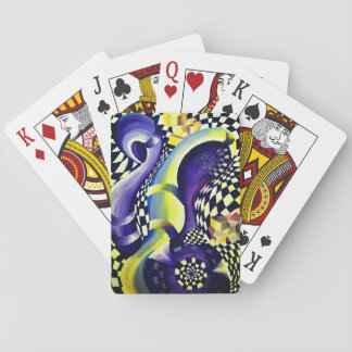 Art Deco - Abstract Distortion Playing Cards