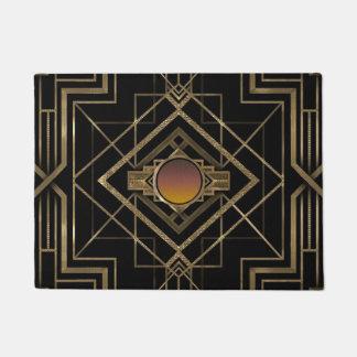 Art Deco Antique Gold Doormat