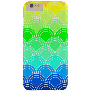 Art deco, art nouveau, vintage, shell,fan,pattern, barely there iPhone 6 plus case