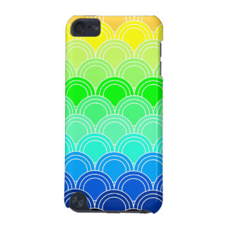 Art deco, art nouveau, vintage, shell,fan,pattern, iPod touch 5G covers