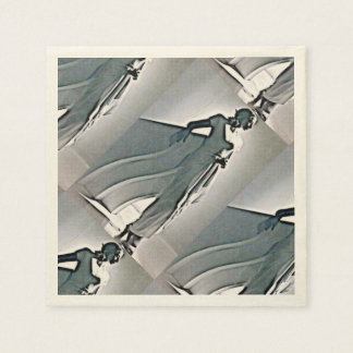 art-deco  beauty paper napkins