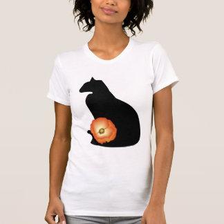 Art Deco Black Cat T-Shirt