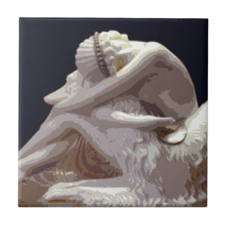Art Deco Borzoi Love Ceramic Tiles
