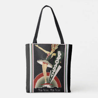 Art Deco Broadway New York Tote