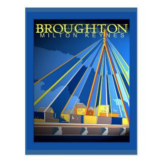 Art Deco Broughton postcard