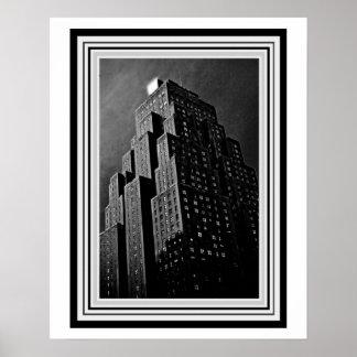 Art Deco Building 16 x 20 Poster