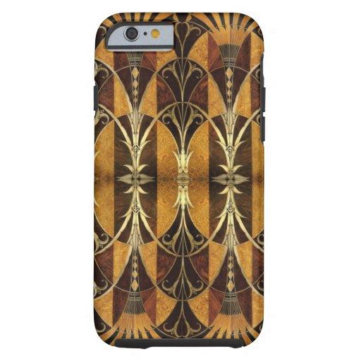 Art Deco Burl Wood iPhone 6 Case