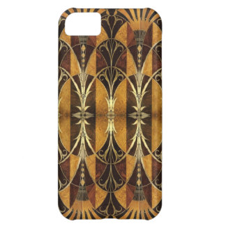 Art Deco Burl Wood iPhone 5C Cover