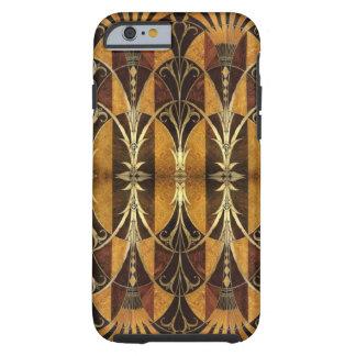 Art Deco Burl Wood Tough iPhone 6 Case