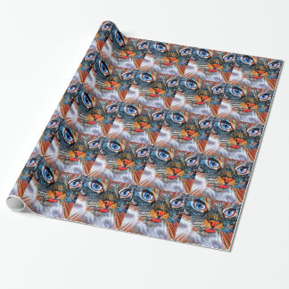 Art Deco Cat #1 Wrapping Paper