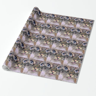 Art Deco Cat #2 Wrapping Paper