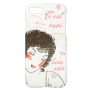Art Deco C'est Moi Vintage French Jazz Age iPhone 7 Case