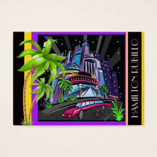 Art Deco City / Casino / Limo Business Card