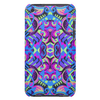 Art déco coloré d'Excrutiatingly psychédélique Coques iPod Touch