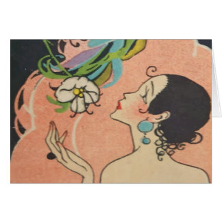 Art Deco Dancer Card