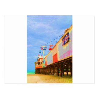 Art Deco Daytona Beach Pier Postcard
