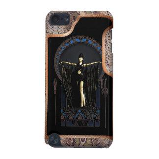 Art déco de peau de serpent coque iPod touch 5G
