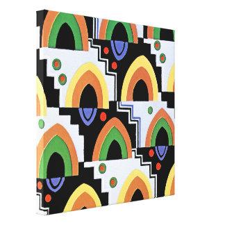 Art Deco Design #4 @ Emporio Moffa Canvas Print