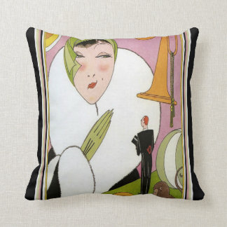Art Deco Design jazz Pillow